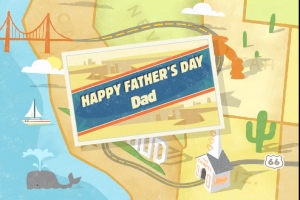 FATHER'S DAY DVD Greeting
