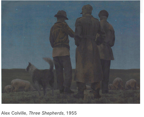 Three Shepherds art