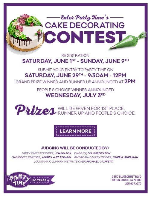 PT-Cake Contest-Eblast-Registration